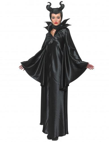 Disney Maleficent Damenkostüm Böse Fee Lizenzware schwarz