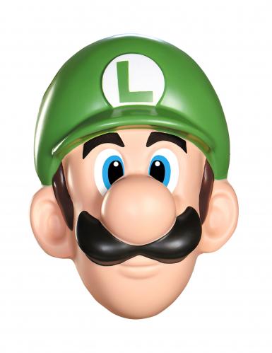Super Mario Luigi Videospiel Maske Lizenzware grün-haut