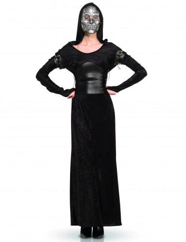 Damenkostüm Bellatrix Lestrange schwarz-silbergrau