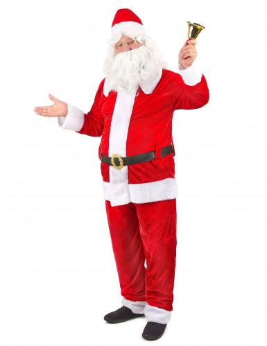 Weihnachtsmann Kostüm Deluxe Weihnachten rot-weiss-1