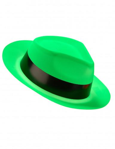 Disco Partyhut für Erwachsene neongrün