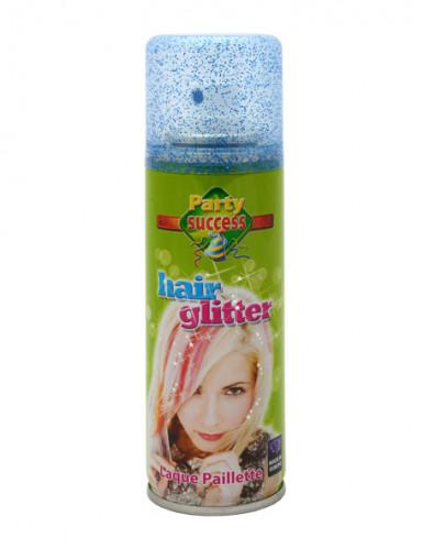 Haarspray mit Pailletten blau 125 ml