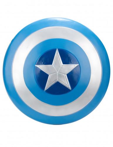 captain america schild marvel lizenzartikel blau silber 61cm g nstige faschings accessoires. Black Bedroom Furniture Sets. Home Design Ideas