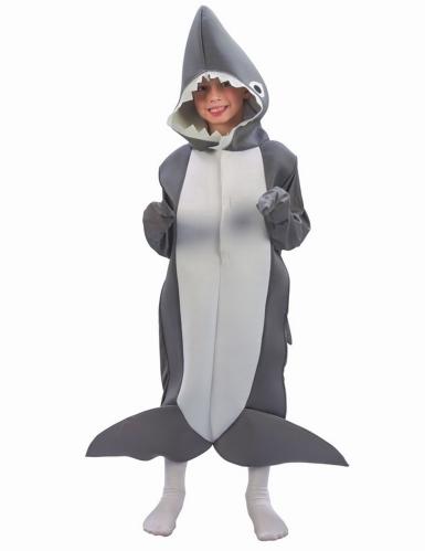 Hai-Kinderkostüm Tierkostüm grau