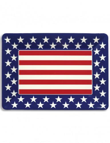 Tablett mit USA-Motiv