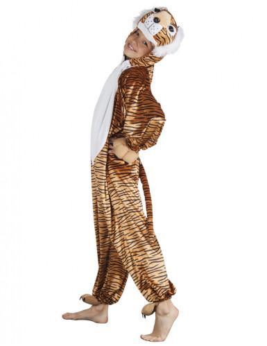 Tiger-Kinderkostüm Tierparty-Kostüm orange-schwarz-weiss
