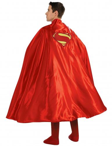 Superman-Umhang Superhelden-Cape Lizenzartikel rot-gelb