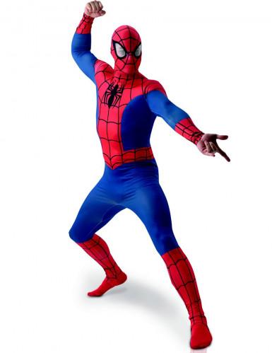 Marvel Spiderman Superhelden Kostüm Lizenzware rot-blau