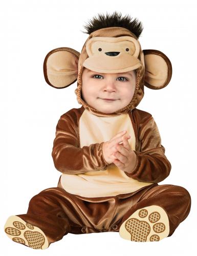 Niedlicher Affe Babykostüm braun