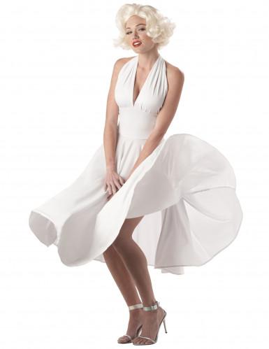 Marylin Monroe Kostüm Lizenzkostüm weiß