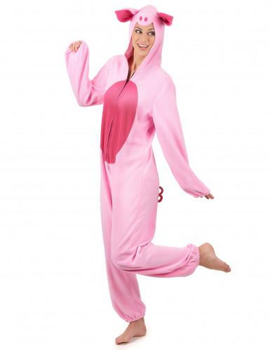 lustiges schwein kost m rosa pink g nstige faschings kost me bei karneval megastore. Black Bedroom Furniture Sets. Home Design Ideas
