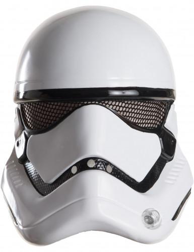 Stormtrooper-Maske Star Wars Lizenzartikel weiss-schwarz