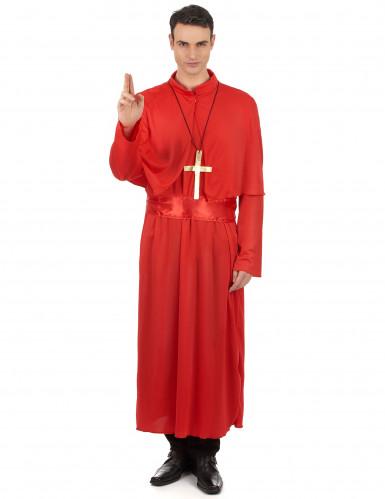 Edler Priester Kostüm Kardinal rot