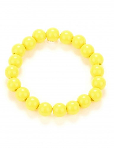 Perlen-Armband gelb