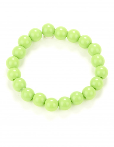 Perlenarmband für Erwachsene hellgrün