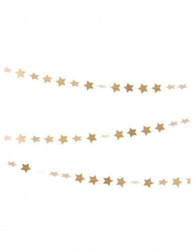 Sternen Partygirlande gold 3m