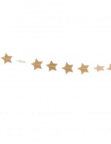 Sternen Partygirlande gold 3m-1