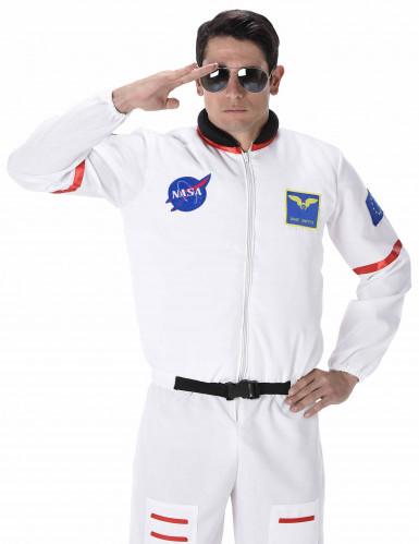 Astronaut Kostüm Raumfahrer weiss-bunt-1