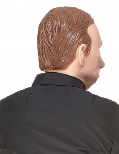 Lustige Latex-Maske Wladimir haut-braun-1