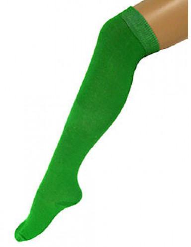 Kniestrümpfe halterlos grün 53cm