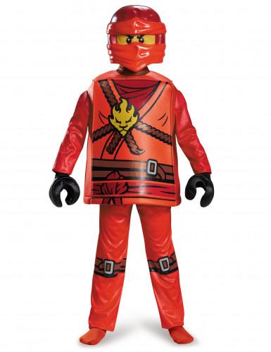 lego kai ninjago kinderkost m ninja rot g nstige faschings kost me bei karneval megastore. Black Bedroom Furniture Sets. Home Design Ideas