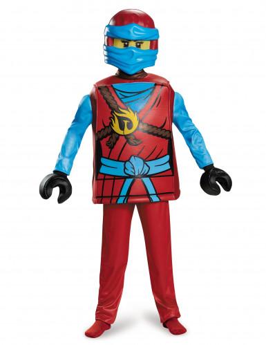 Lego® Nya Ninjago™ Kinderkostüm Ninja rot-gelb-blau-1