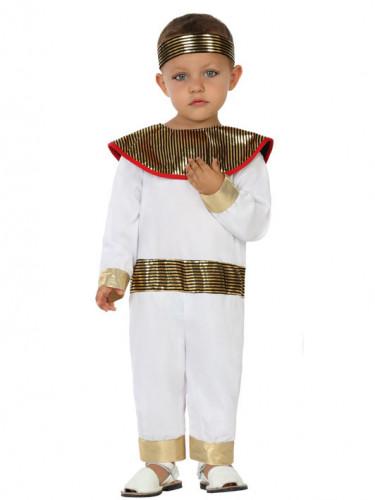 pharao kost m kleinkinder wei goldfarben g nstige faschings kost me bei karneval megastore. Black Bedroom Furniture Sets. Home Design Ideas