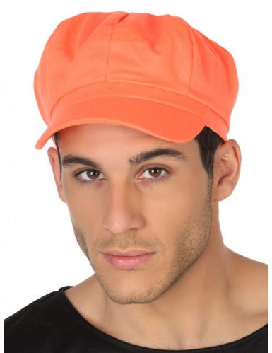Schirmmütze orange