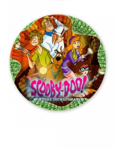 Teller Scooby-Doo™ Party-Deko 5 Stück bunt