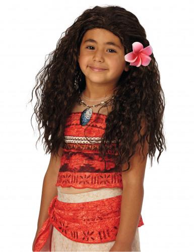 Vaiana Perücke für Kinder Disney Lizenzware schwarz