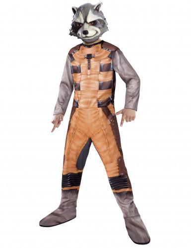 Rocket Raccoon - Waschbär-Kostüm für Kinder braun