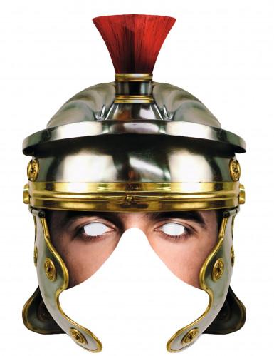 Römischer Legionär - Maske für Erwachsene aus Karton
