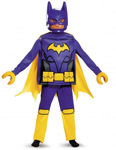 LEGO Batman Movie Batgirl Kinderkostüm Lizenzware lila-gelb