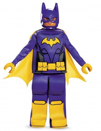 LEGO® Batman Movie Deluxe Batgirl Kinderkostüm Lizenzware lila-gelb
