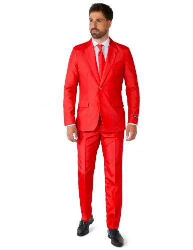 Anzug Mr. Solid Suitmeister Herren rot