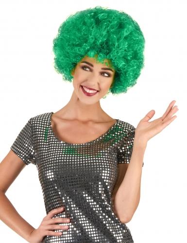 Afroperücke Clownsperücke grün