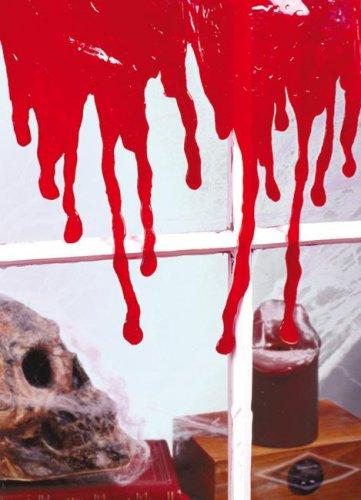 Halloween fensterdeko blutspuren party deko rot 45x29cm g nstige faschings partydeko zubeh r - Halloween fensterdeko ...
