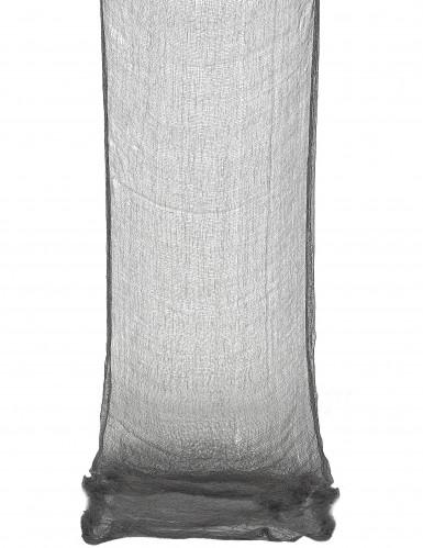 leichentuch drapiertuch halloween deko schwarz 300x75cm. Black Bedroom Furniture Sets. Home Design Ideas