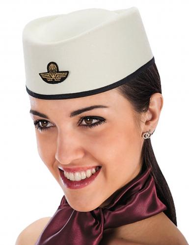Stewardess Flugbegleiterin Hut