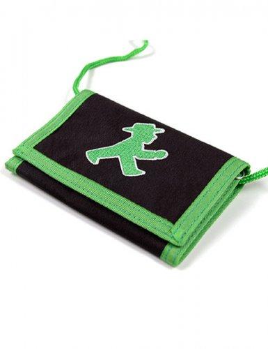 Ampelmännchen Geldbörse Brustbeutel Ostalgie schwarz-grün