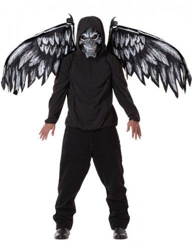 gefallener engel d mon halloween kost m set maske und. Black Bedroom Furniture Sets. Home Design Ideas