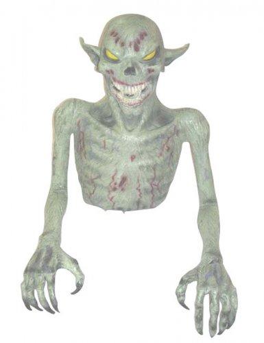 Monster Goblin Halloween-Dekofigur grün 50cm