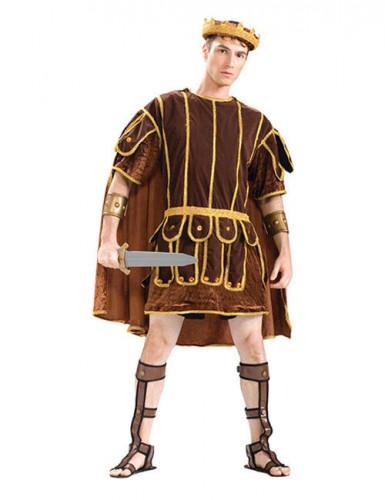 Antike Kostüm Römer braun-gold