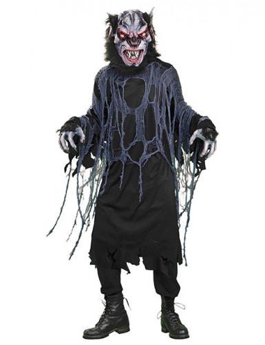 werwolf halloween kost m schwarz g nstige faschings kost me bei karneval megastore. Black Bedroom Furniture Sets. Home Design Ideas