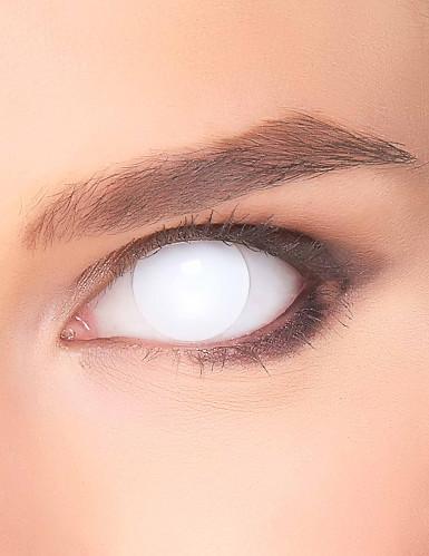 Kontaktlinsen weiss komplett