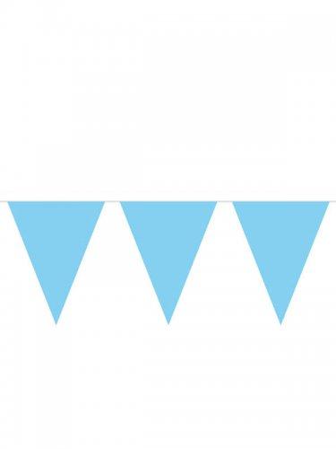 Oktoberfest Wimpelkette blau 10m