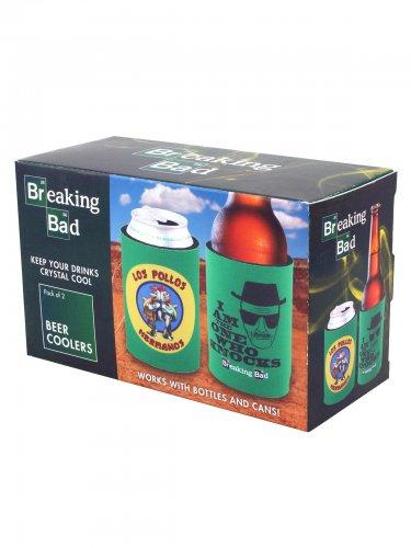 Breaking Bad™ Bierkühler bunt 2-er Set 11x8x17cm