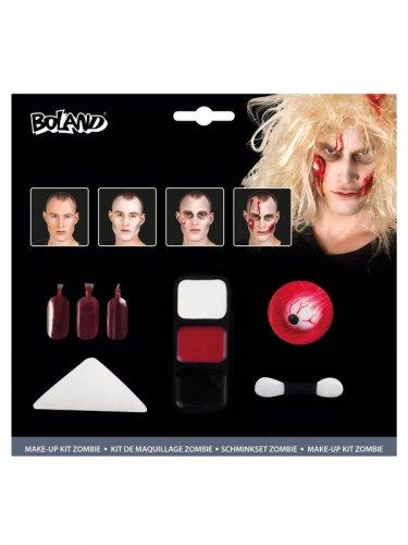 zombie make up set halloween schminke bunt g nstige faschings make up bei karneval megastore. Black Bedroom Furniture Sets. Home Design Ideas