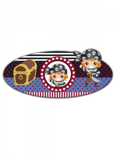 Piraten-Türschild 3D Piraten-Party-Deko bunt 56x26cm , günstige ...