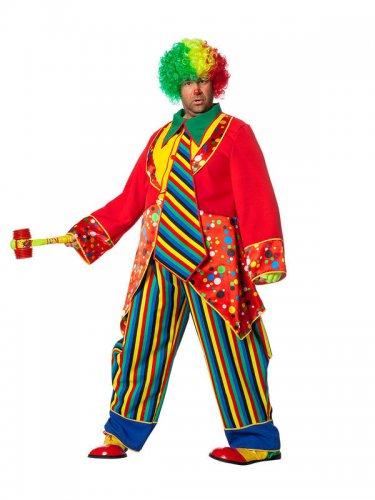 lustiger clown kost m zirkus verkleidung bunt g nstige faschings kost me bei karneval megastore. Black Bedroom Furniture Sets. Home Design Ideas